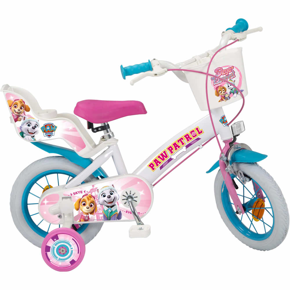 Bicicleta copii Paw Patrol Girl, 12 inch imagine 2021
