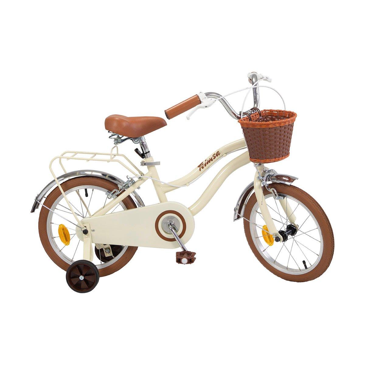 Bicicleta copii Toimsa Vintage Beige, 16 inch