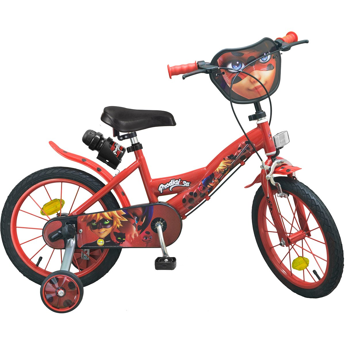 Bicicleta Miraculous Lady Bug, 16 inch
