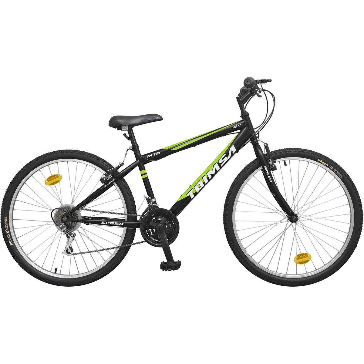 Bicicleta Toimsa 26 inch, MTB, Black, 18V