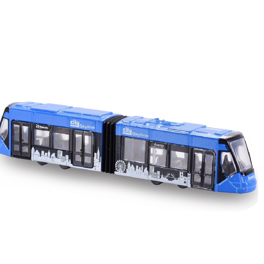 tramvai siemens avio tram, albastru