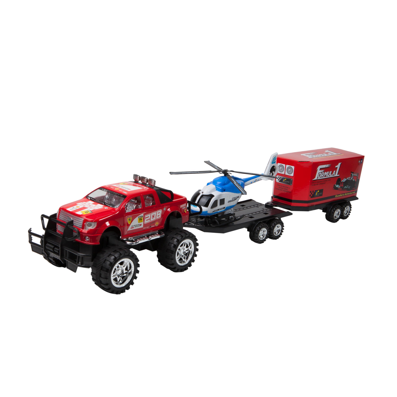 transportor de vehicule cu elicopter noriel