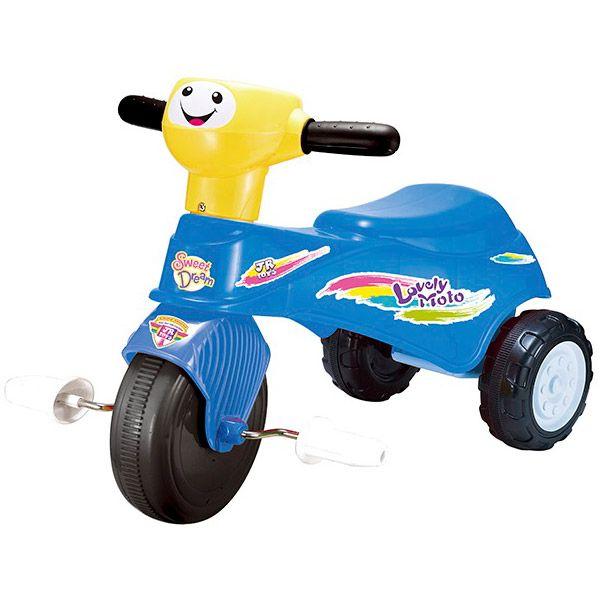 Tricicleta copii Basic Albastra Jr.Kids