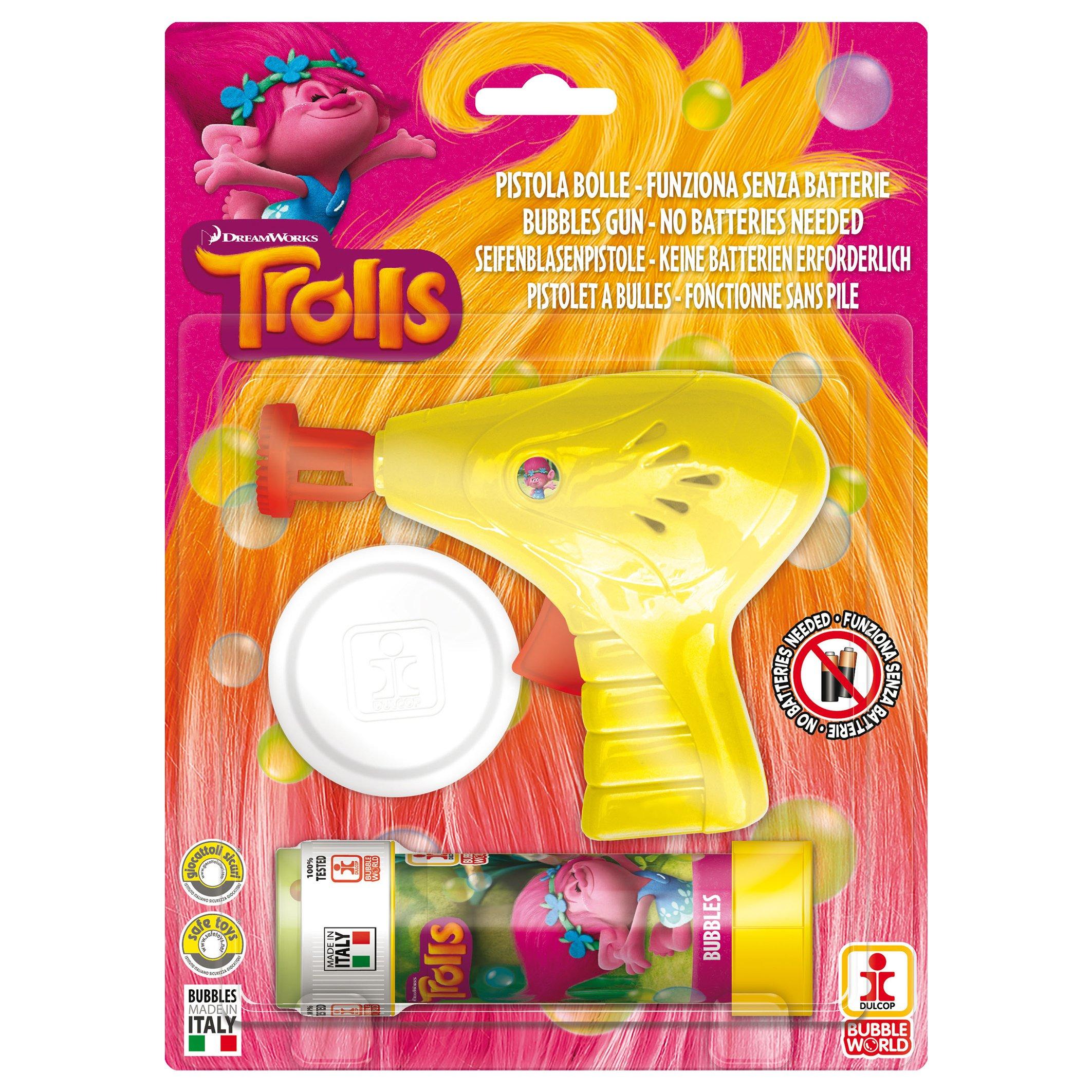 Trolls - Pistol baloane de sapun