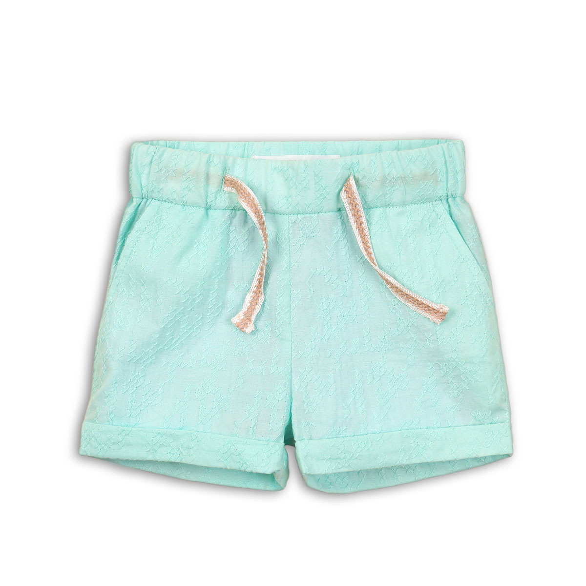 Pantaloni scurti texturati fete Minoti Tropicana