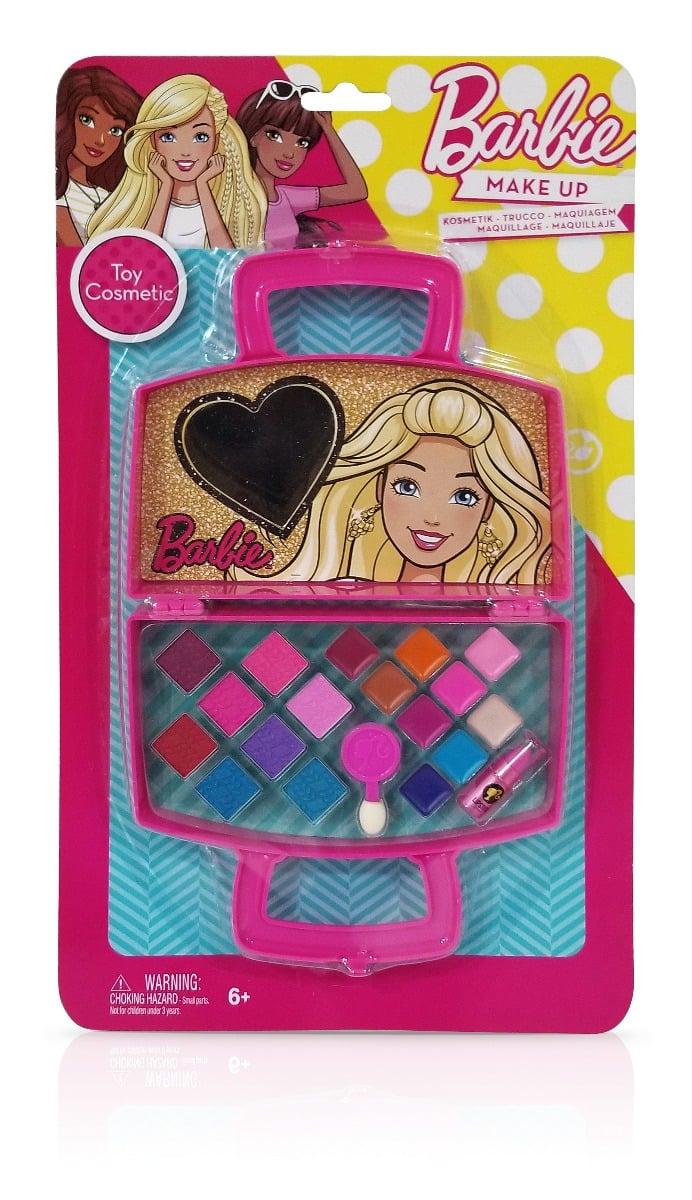 Trusa de cosmetice in forma de gentuta, Barbie