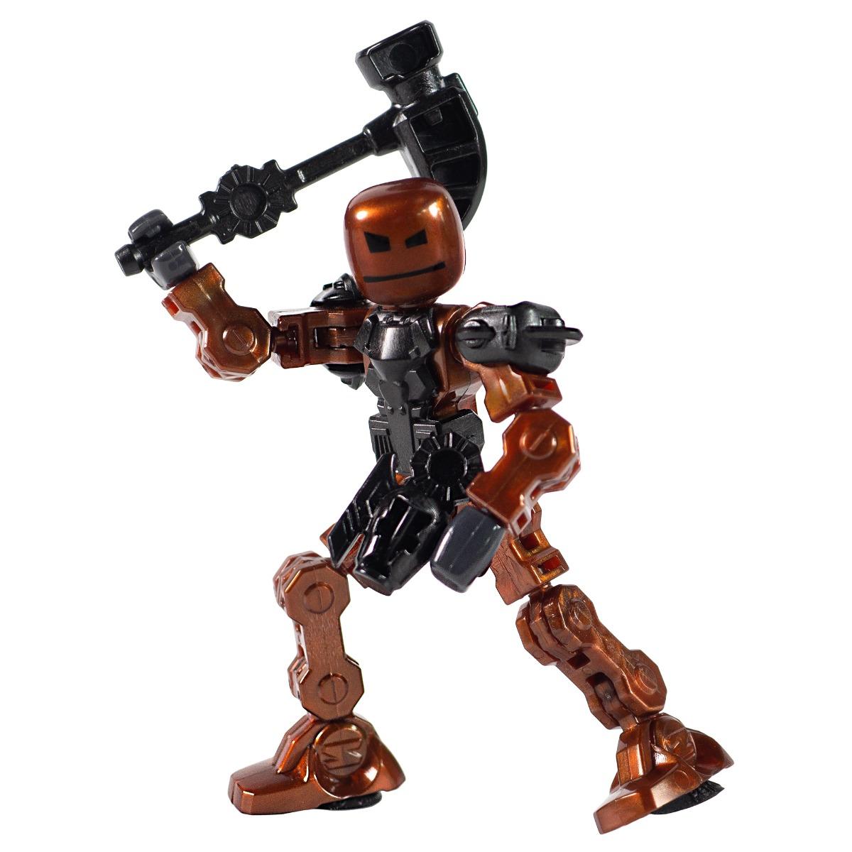 Figurina Robot articulat transformabil KlikBot, Bash