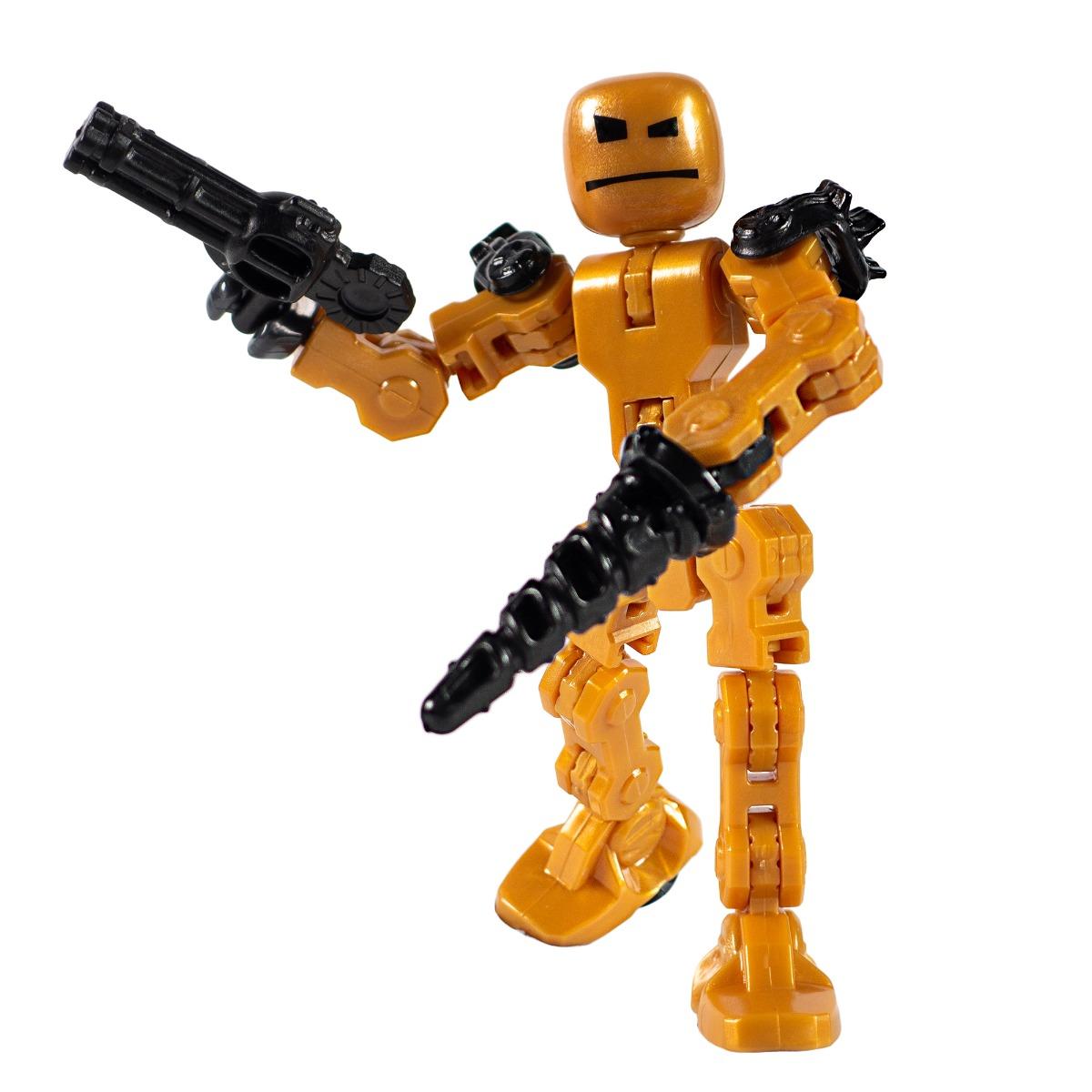 Figurina Robot articulat transformabil KlikBot, Warp