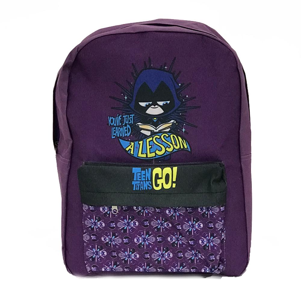 Ghiozdan cu 2 compartimente Teen Titans
