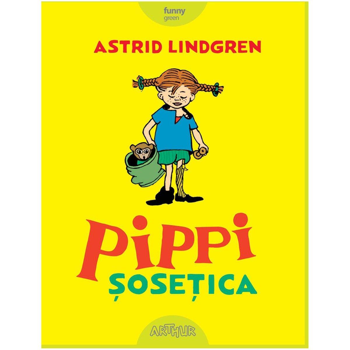 Carte Editura Arthur - Pippi Sosetica, Astrid Lindgren