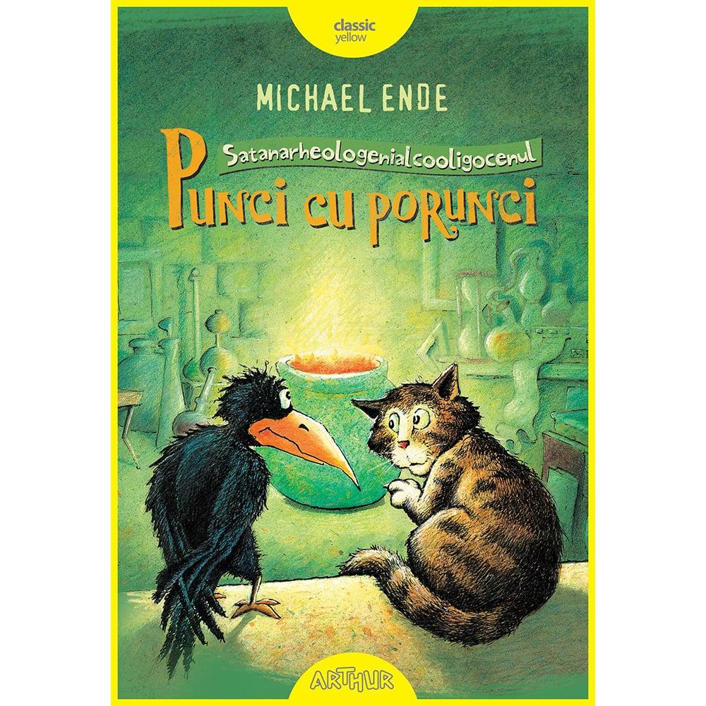 Carte Editura Arthur, Punci cu porunci (Cartonat), Michael Ende
