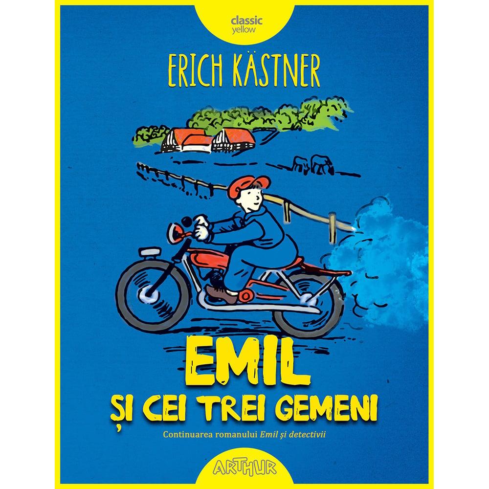Carte Editura Arthur, Emil si cei trei gemeni, Erich Kastner