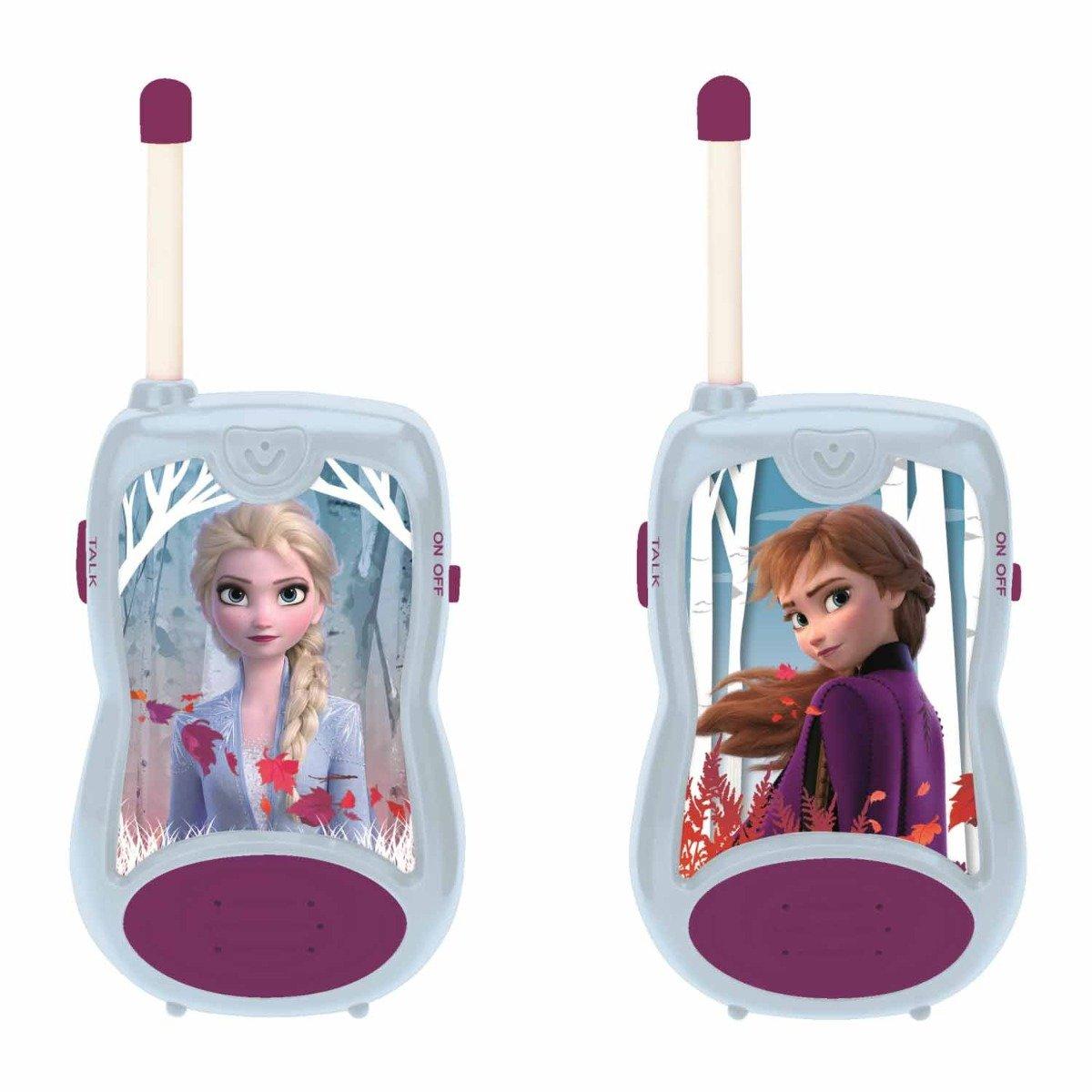Set Walkie Talkie cu raza de actiune 100m, Disney Frozen 2