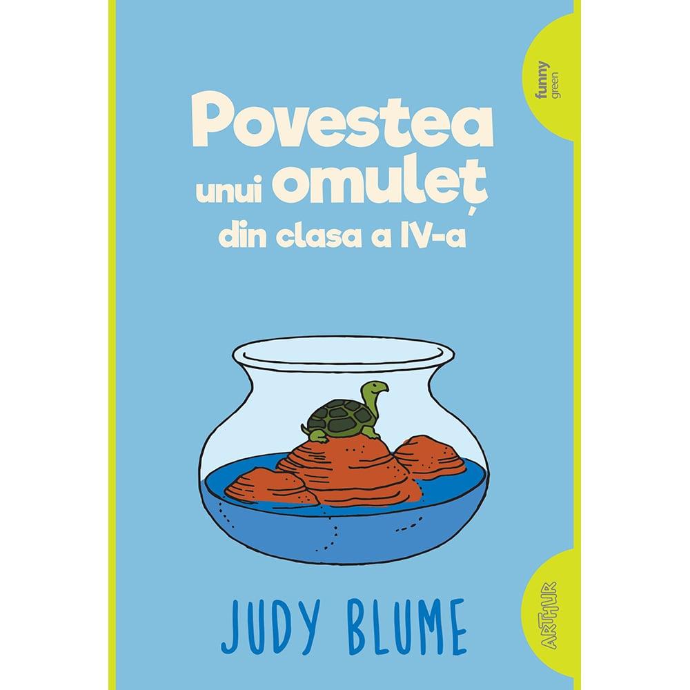 Carte Editura Arthur, Supercoltunas 1. Povestea unui omulet din cls a IV-a, Judy Blume