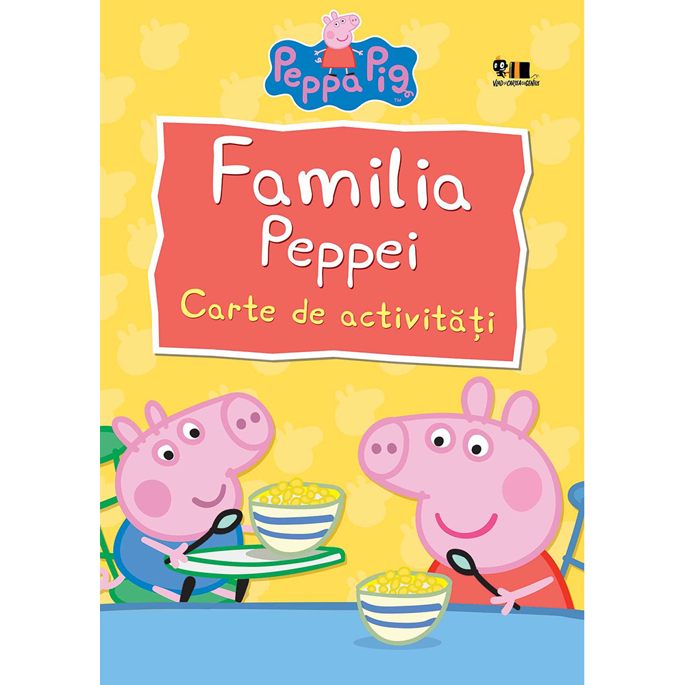 Carte Editura Arthur, Peppa Pig: Familia Peppei, Nelville Astley si Mark Baker imagine