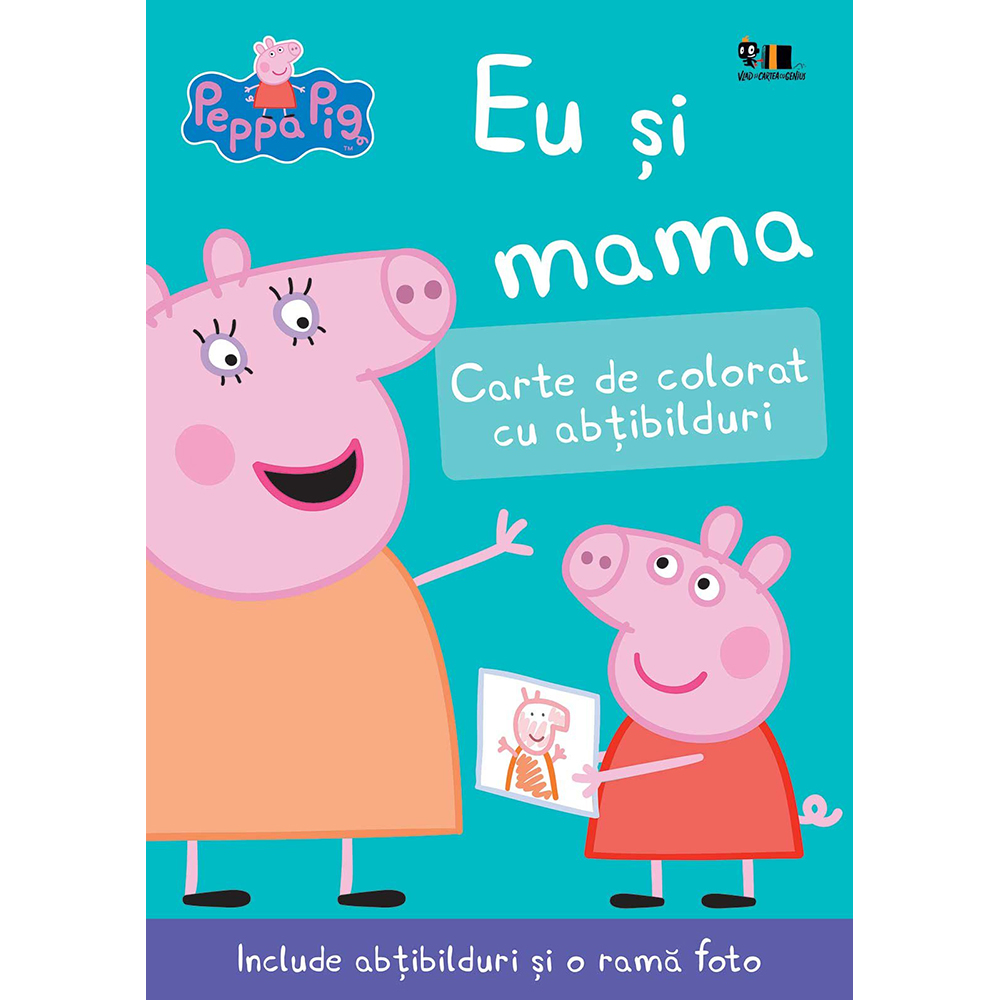Carte Editura Arthur, Peppa Pig: Eu si mama, Nelville Astley si Mark Baker