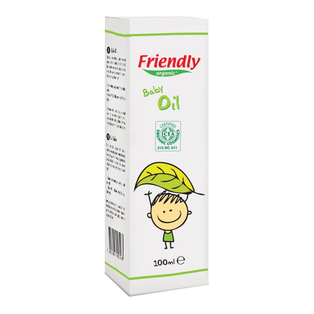 ulei de bebelusi friendly organic, 100 ml