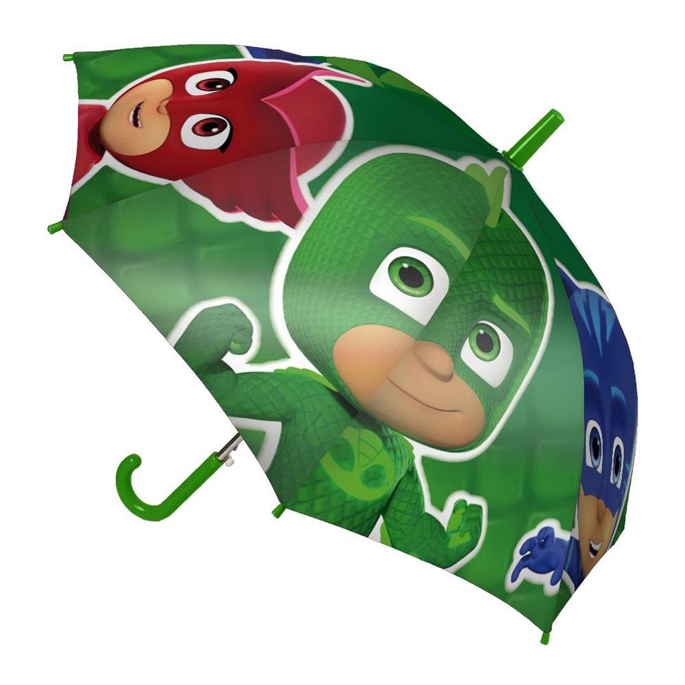 umbrela eroi in pijama, 42 cm, verde