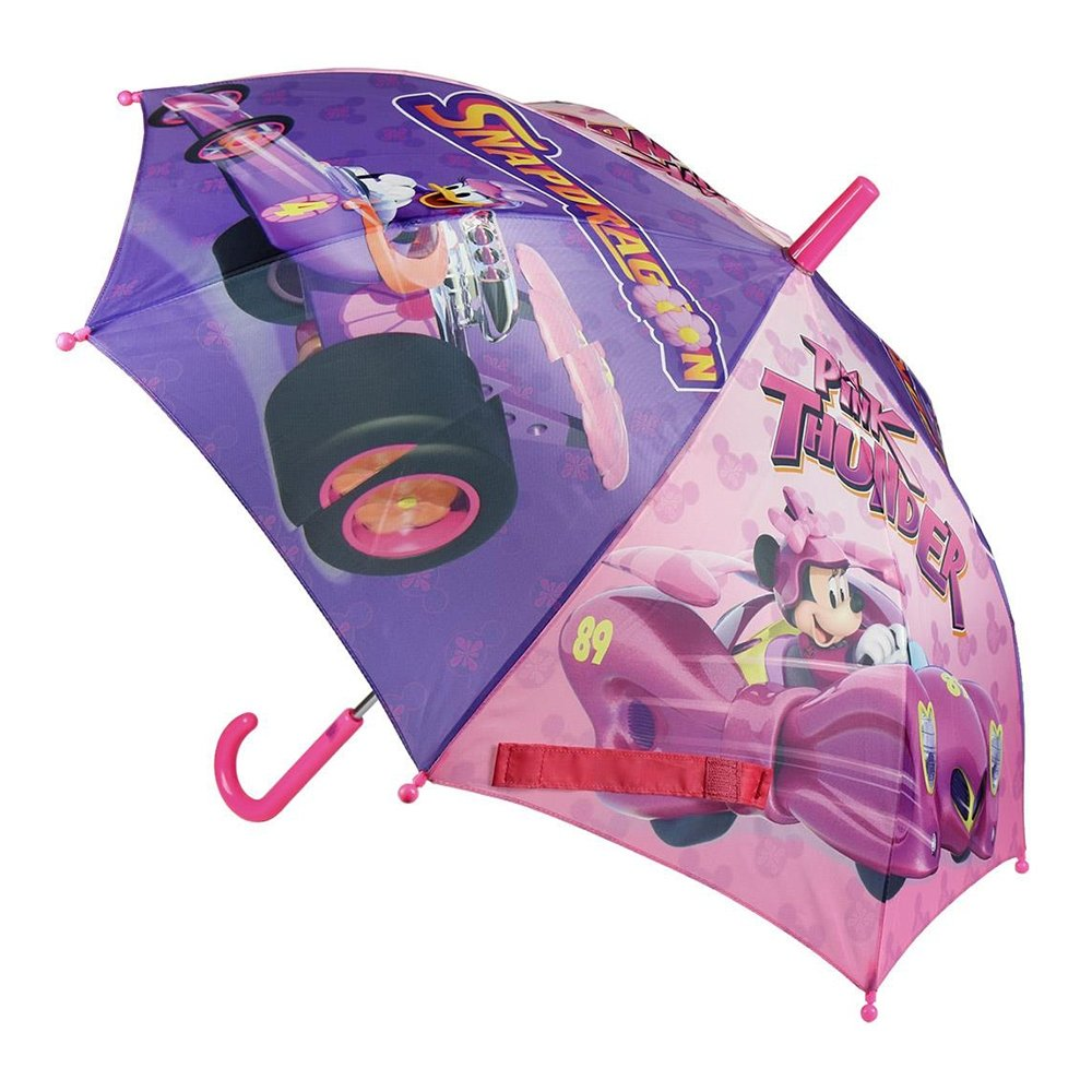umbrela mickey mouse, 42 cm, roz