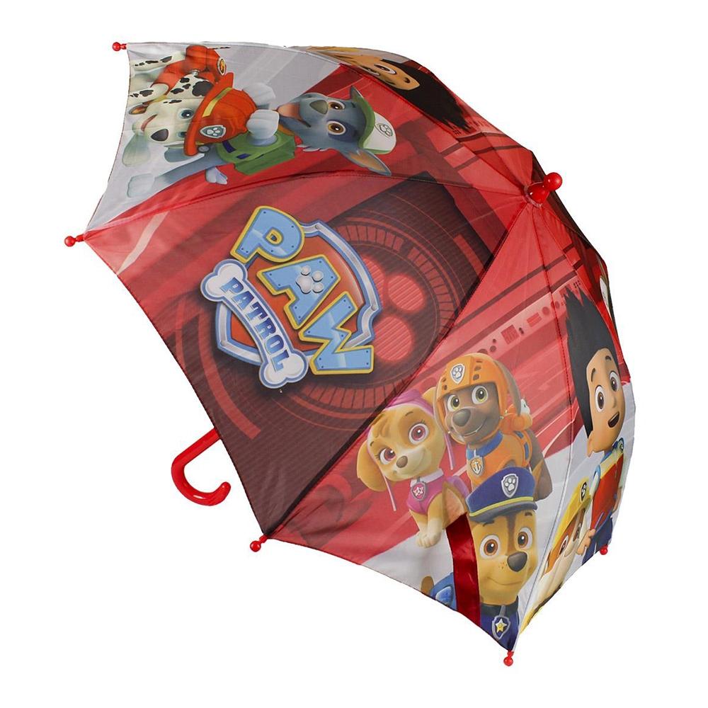 umbrela paw patrol, 42 cm, rosu