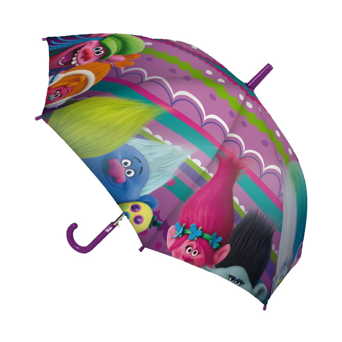 umbrela trolls, 42 cm, mov