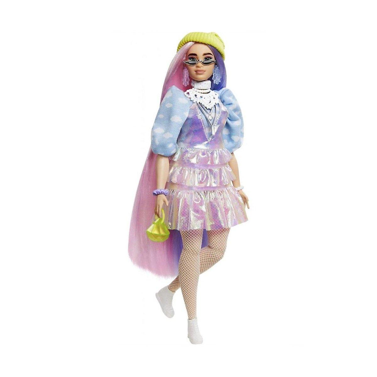 Papusa Barbie, Extra Style, Beanie