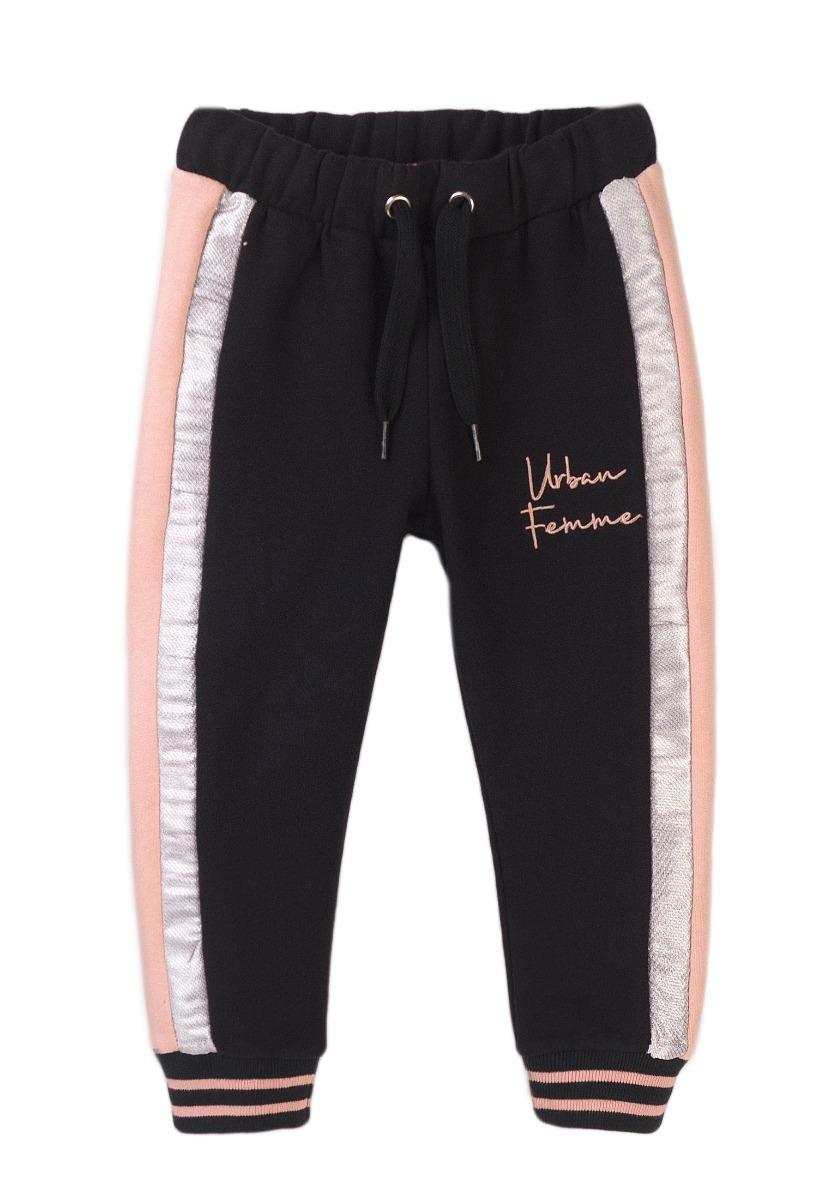 Pantaloni sport cu talie elastica si snur Minoti, Urban Femme