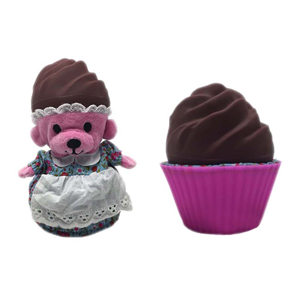 ursulet briosa cupcake - peppermint hot chocolate