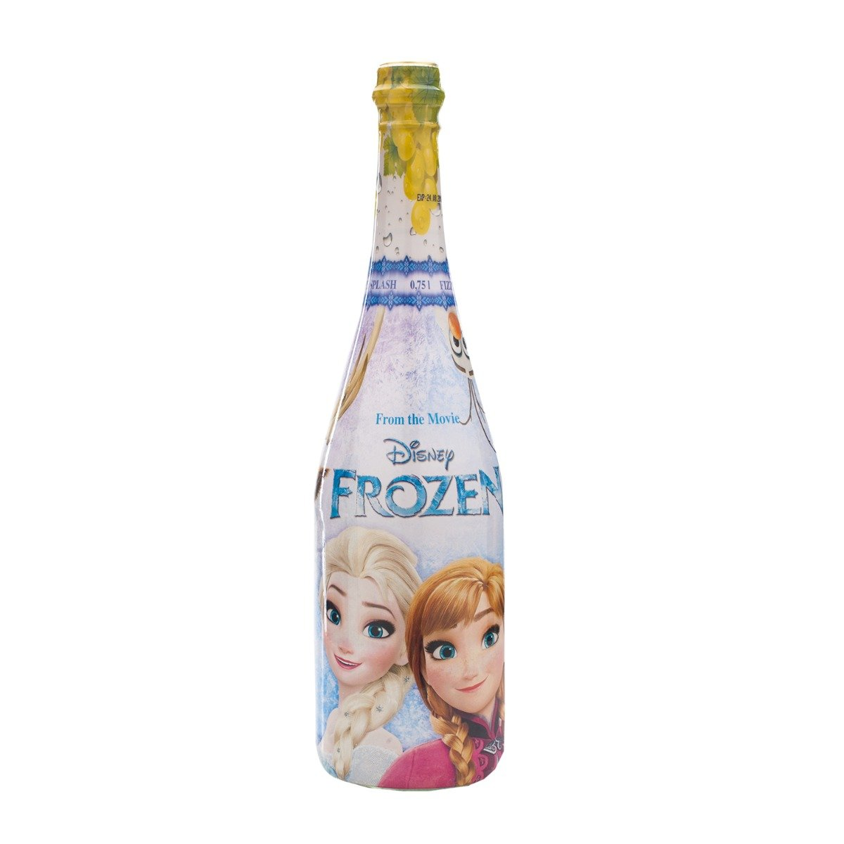 Sampanie pentru copii cu strugure Vitapress, Disney Frozen, 0.75 L imagine
