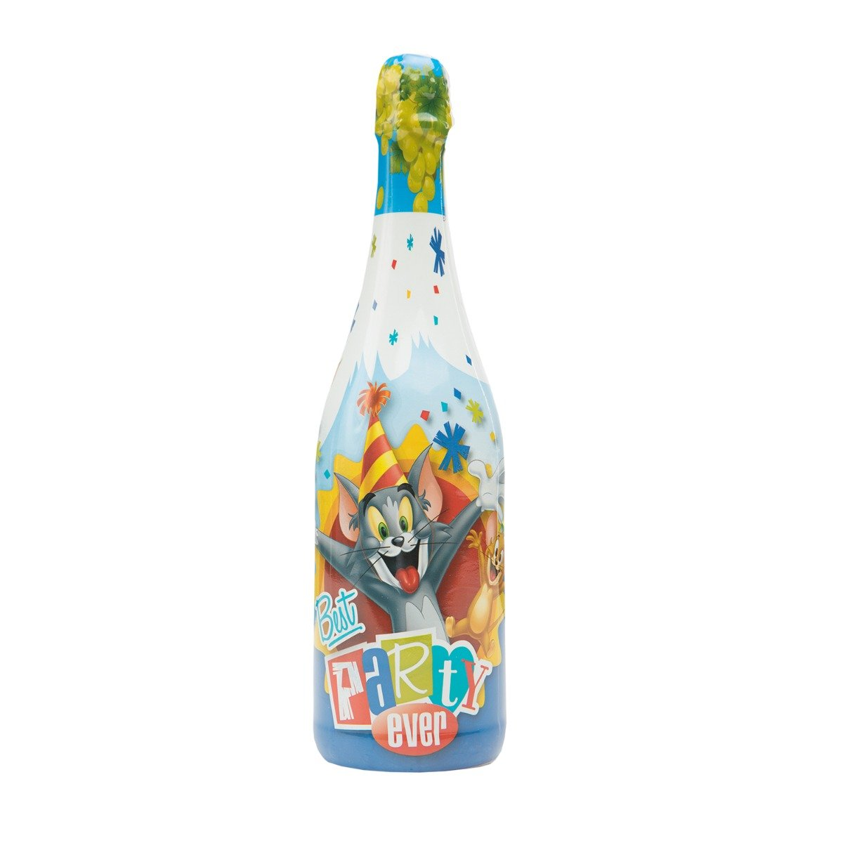 Sampanie pentru copii cu strugure Vitapress, Tom and Jerry, 0.75 L imagine