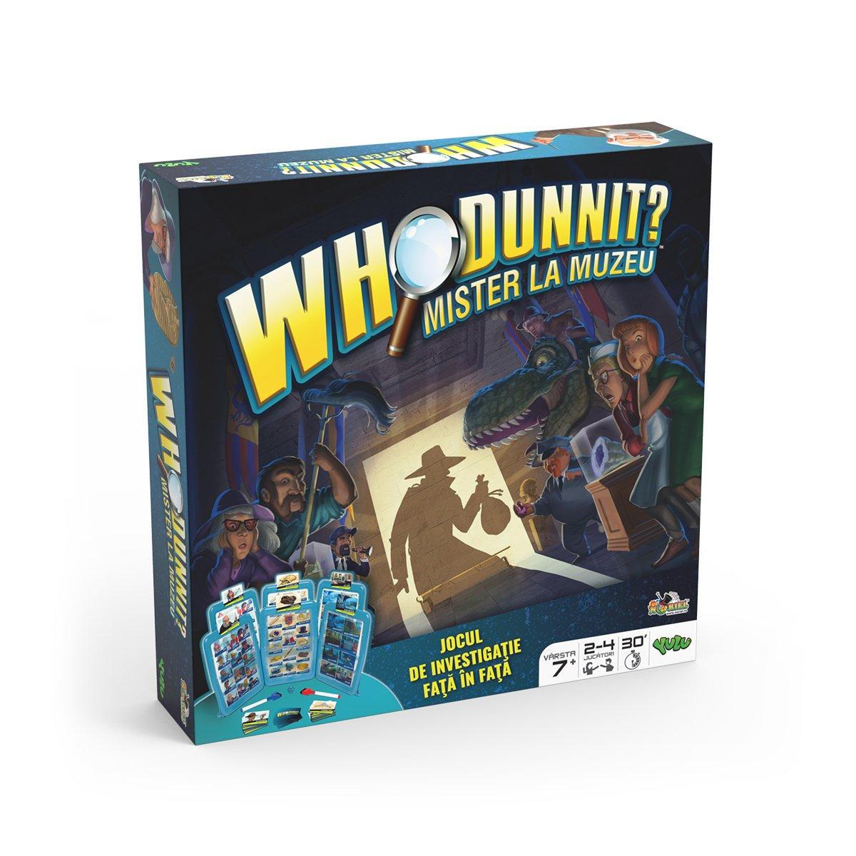 Joc Who DunnIt - Mister la muzeu. Descopera Cine Ce Unde