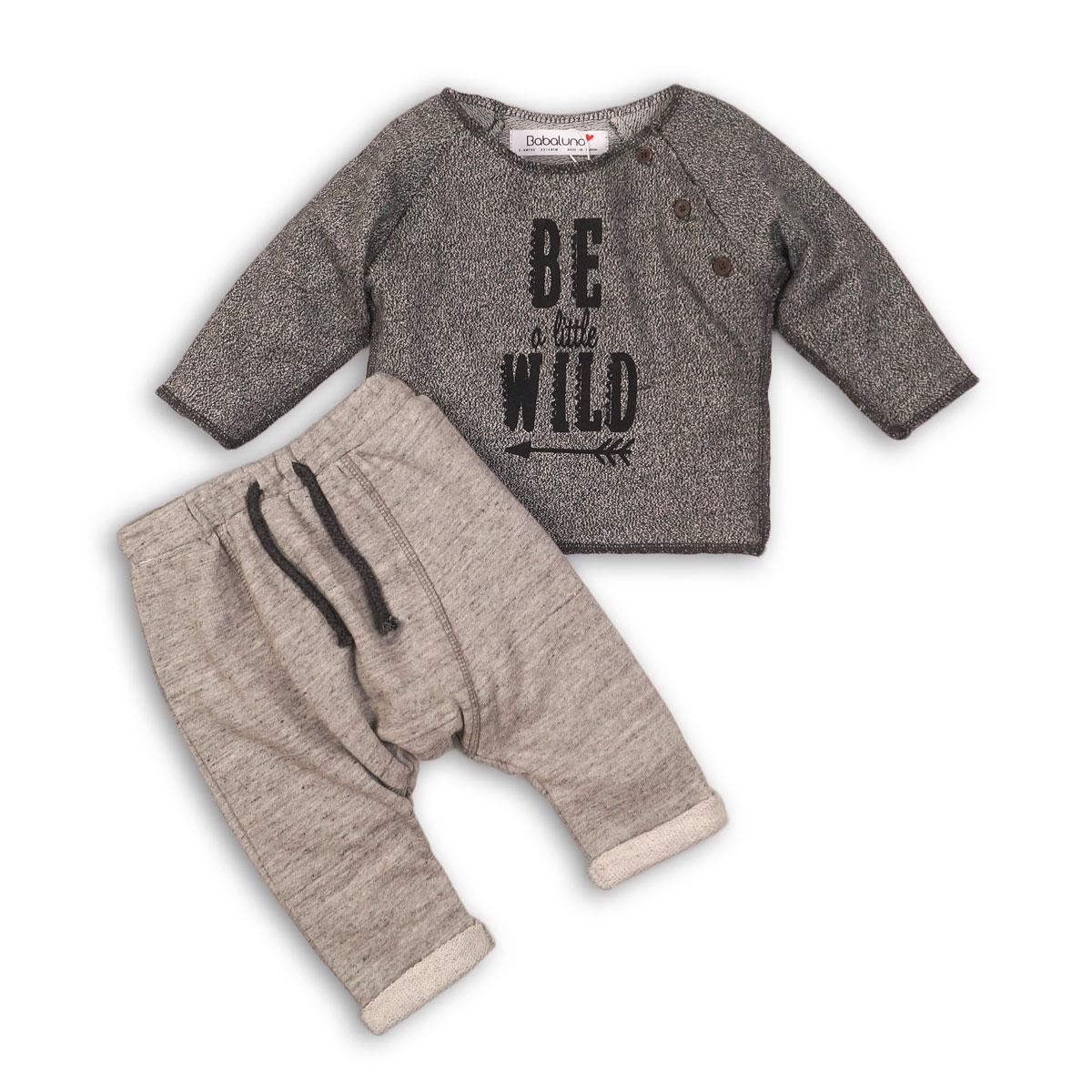 set bluza si pantaloni bebe minoti wild