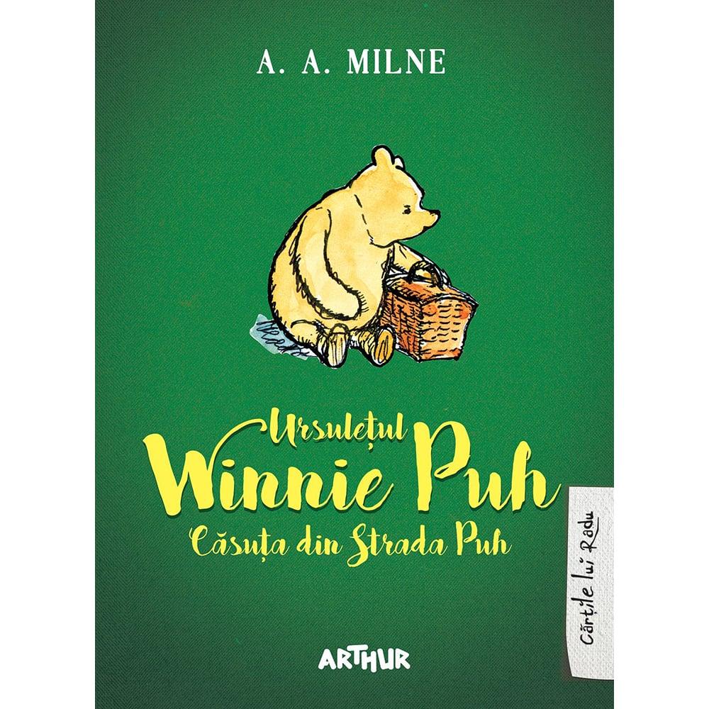 Carte Editura Arthur, Casuta din strada Puh, A. A. Milne