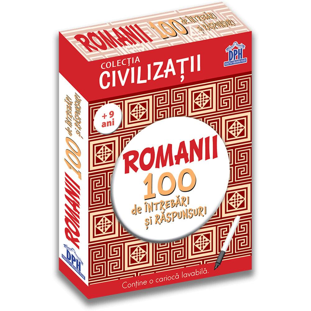 Editura DPH - Romanii - 100 de intrebari si raspunsuri, Gabriela Girmacea imagine 2021