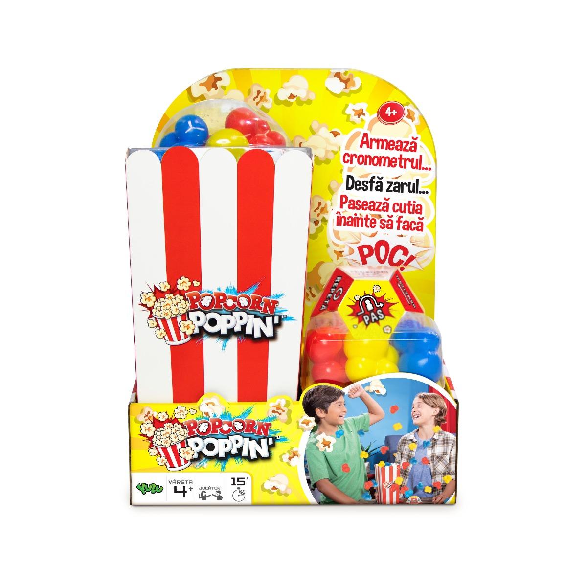 Joc interactiv Yulu, Popcorn Poppin