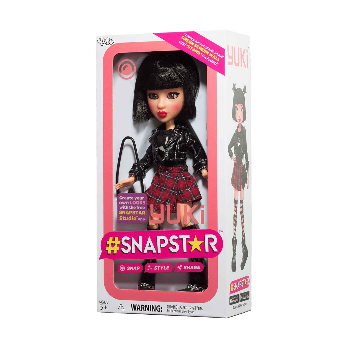 Papusa SnapStar, Yuki