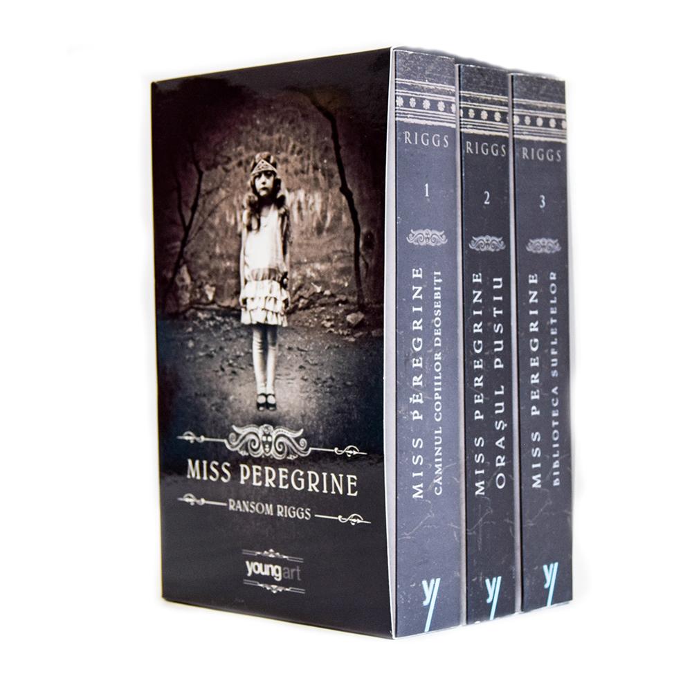 Carte Editura Arthur, Miss Peregrine 1-3 (set), Ransom Riggs