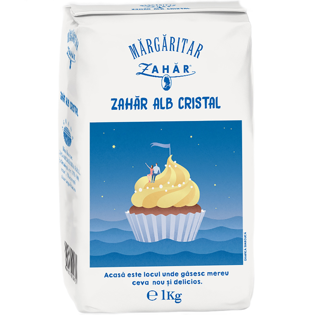 Zahar alb cristal Margaritar, 1 kg imagine