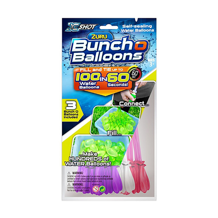 Set 100 Baloane de apa Bunch O Balloons, Rapid Fill