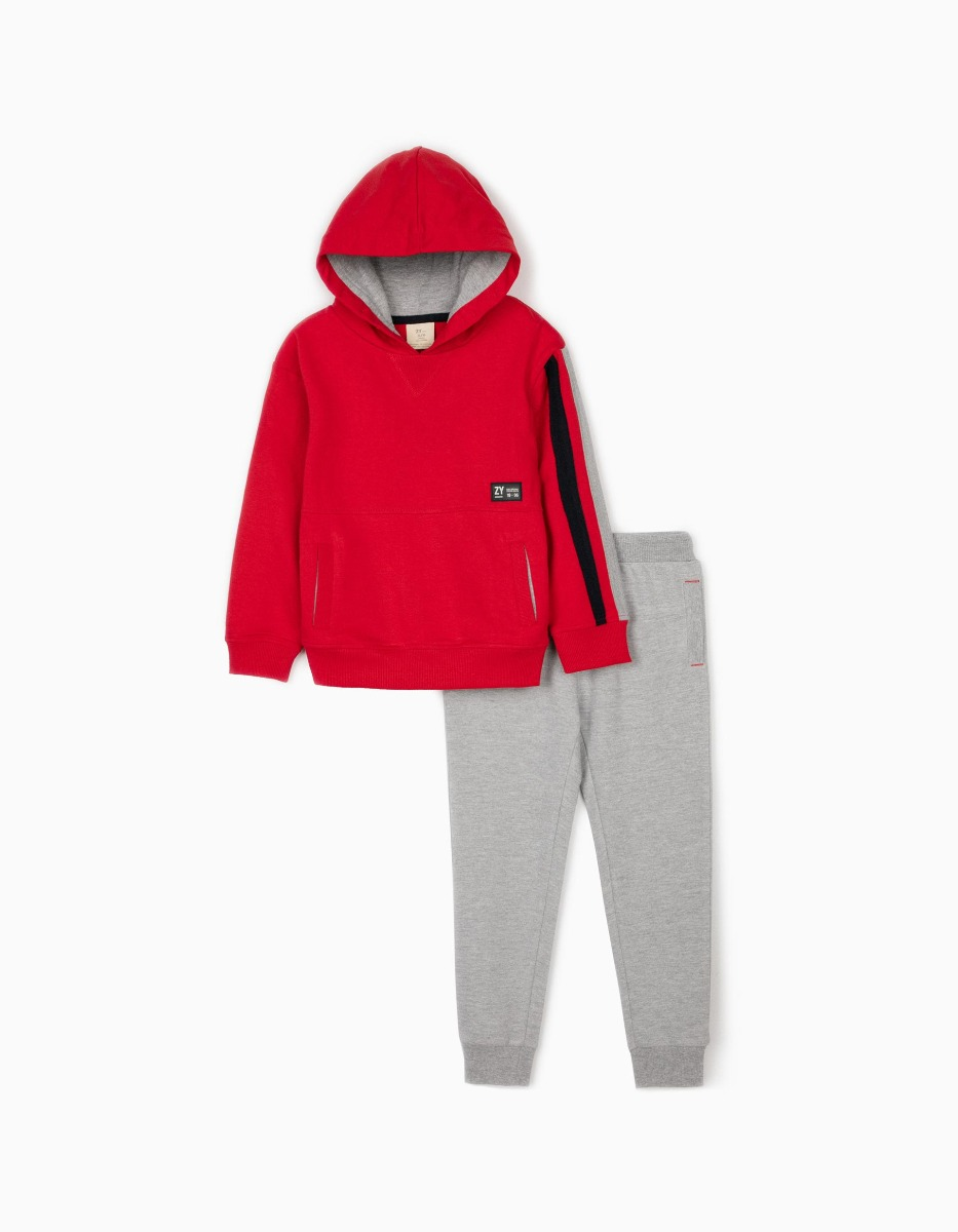 Set hanorac si pantaloni sport Zippy