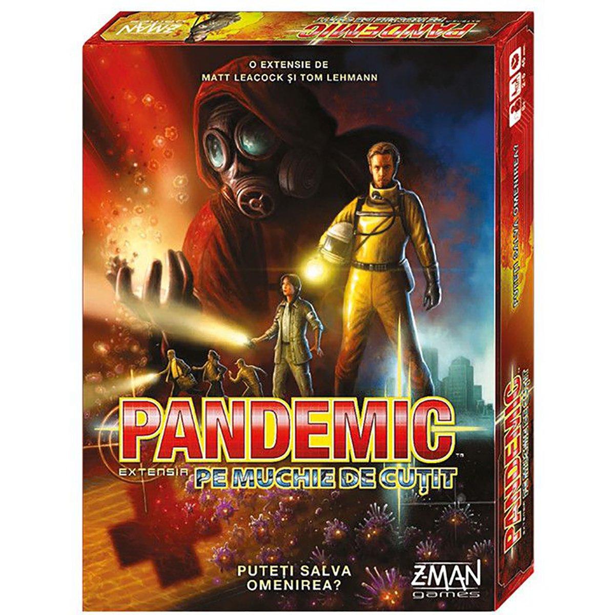 Joc de societate Pandemic, Pe muchie de cutit, Extensie
