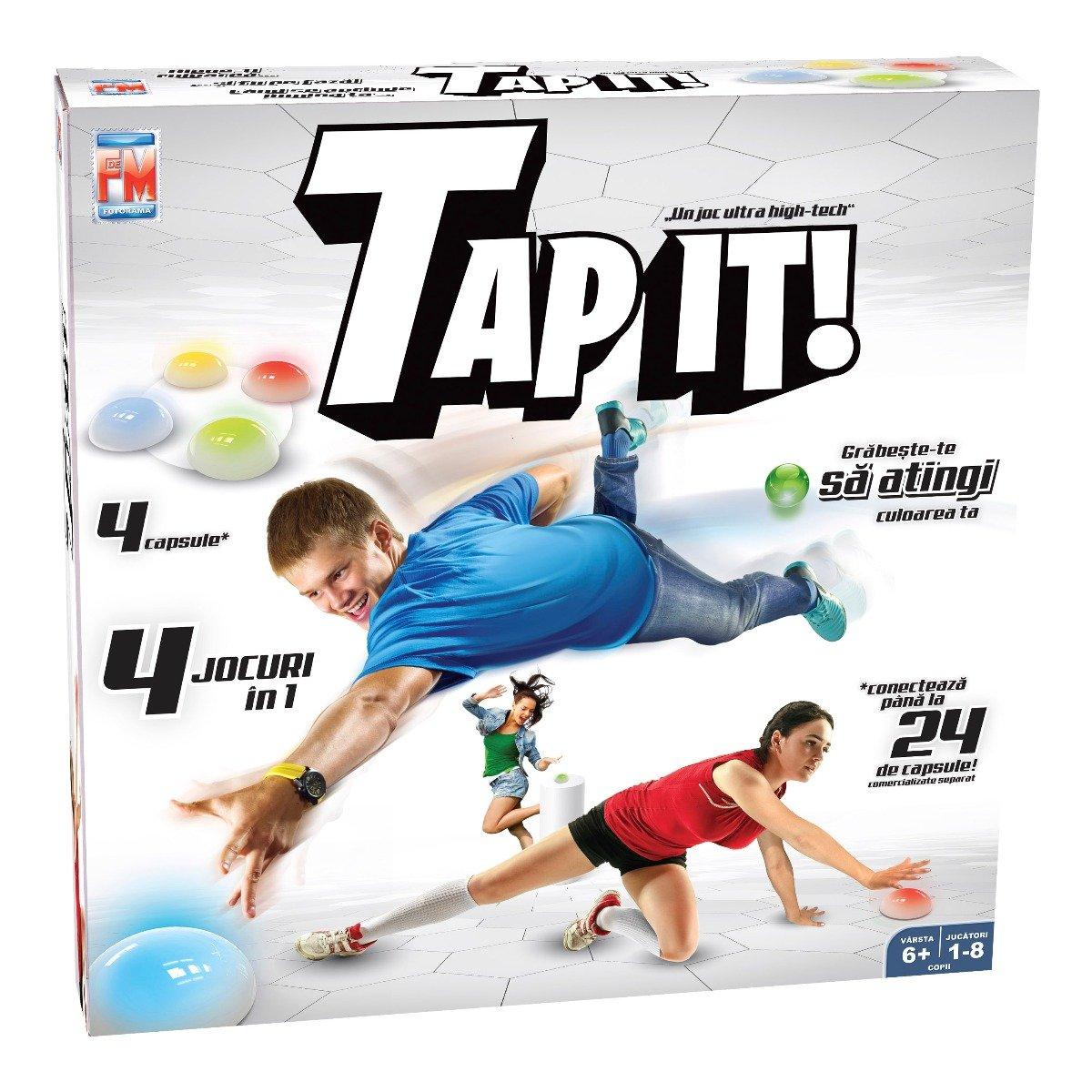 Joc de societate 4 in 1 Tap It