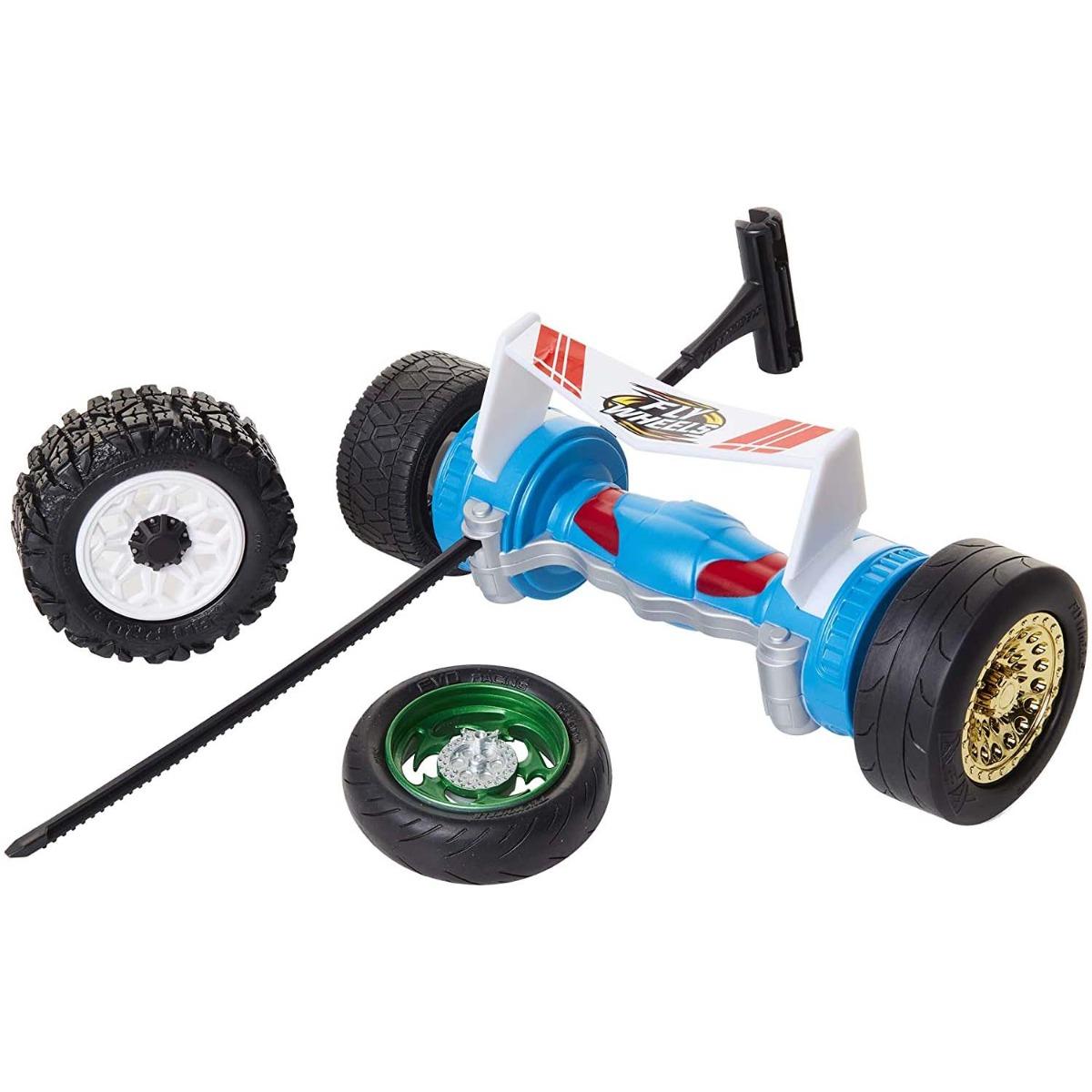 Lansator Fly Wheels Twin Turbo. Albastru