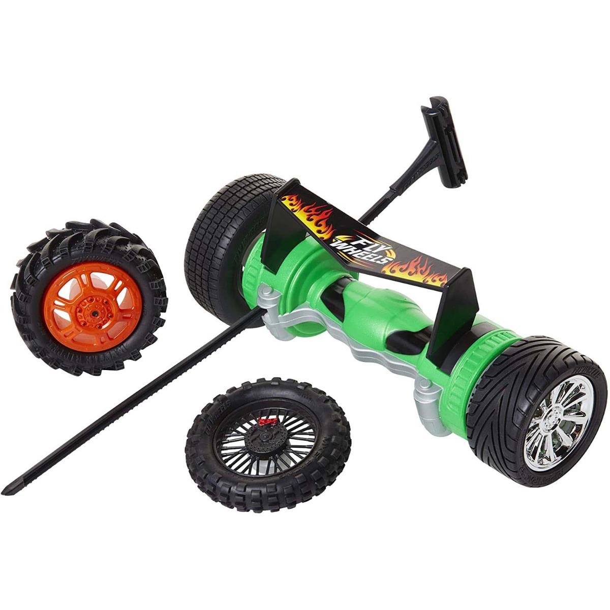 Lansator Fly Wheels Twin Turbo. Verde