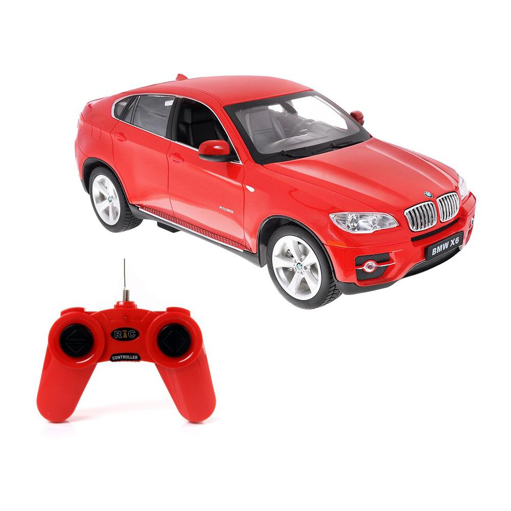 Masina cu telecomanda Rastar BMW X6. 1:24. Rosu