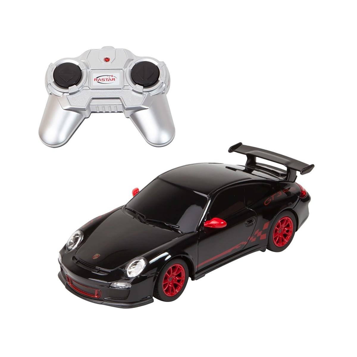 Masina cu telecomanda Rastar Porsche GT3 RS. 1:24. Negru