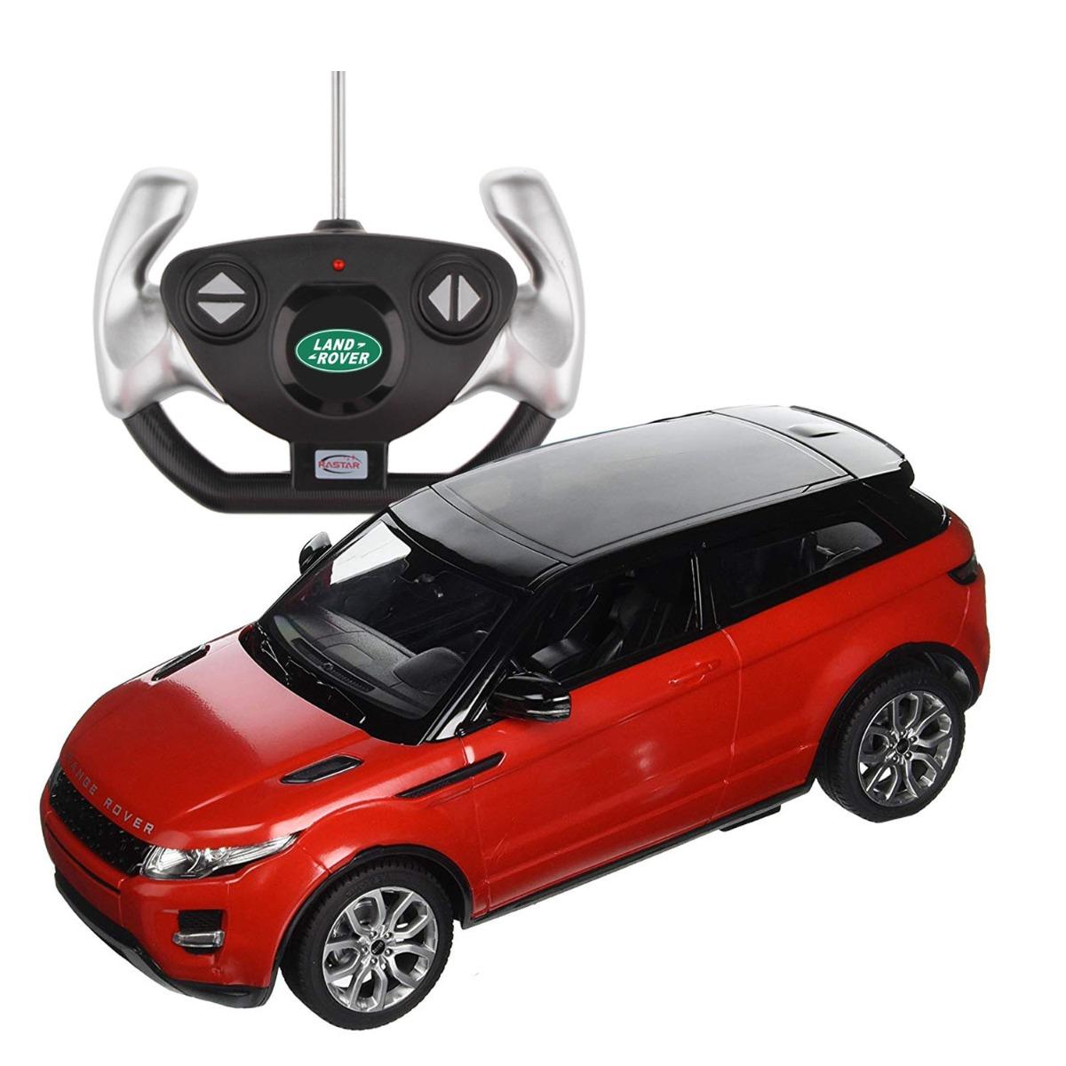 Masina cu telecomanda Rastar Range Rover Evoque 1:14. Rosu