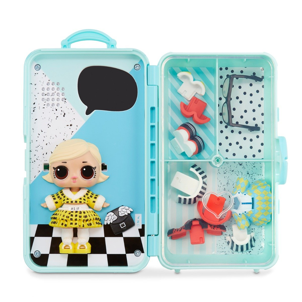 Papusa LOL Surprise Style Suitcase. As if Baby. 560401