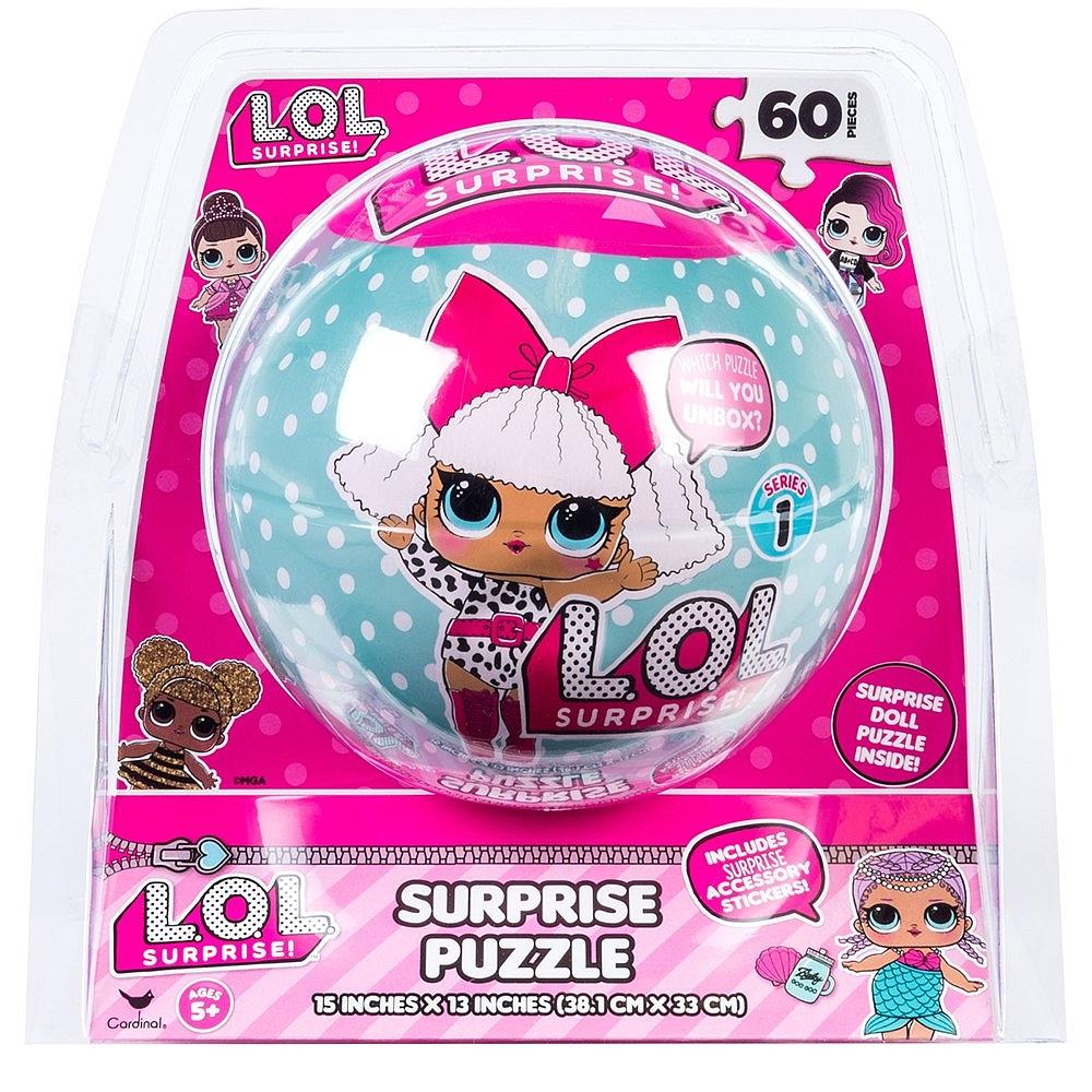 Puzzle LOL Surprise. 60 piese