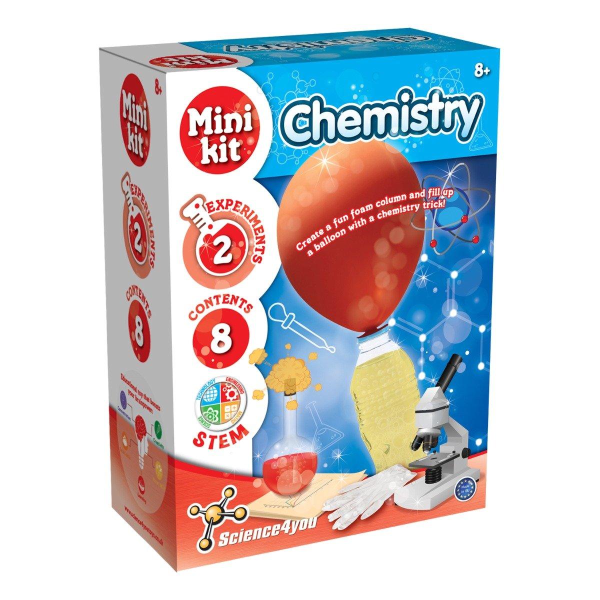 Joc educativ Science4you. experimente de chimie